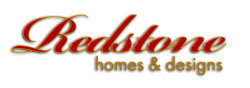 Red Stone Homes and Designs Logo